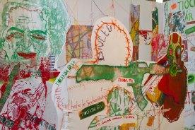 Mixed-media installation 'North of Ireland'